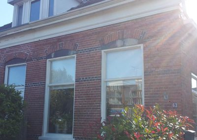 Scheurherstel van een woning in Appingedam