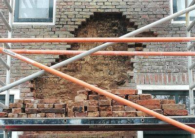 Gevel renovatie Baflo